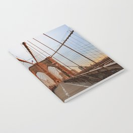 Brooklyn Bridge Sunrise Notebook