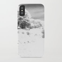 Haresfield In The Snow iPhone Case