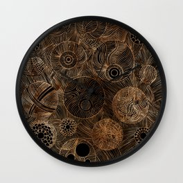Organic Forms Wall Clock