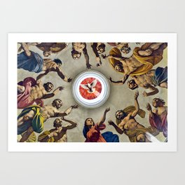 Cathedral of Noto Art Print