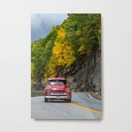 58 Pickup in Autumn Metal Print