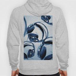 Headphones (Blue) Hoody
