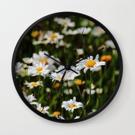 Daisy Days Wall Clock