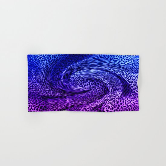 ORCHID ABSTRACT Hand & Bath Towel