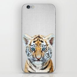 Baby Tiger - Colorful iPhone Skin