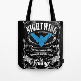 NIGTWING label whiskey style Tote Bag