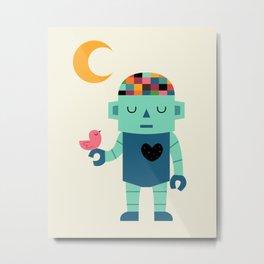 Robot Dreams Metal Print