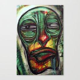 dense face Canvas Print