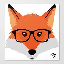 Geek Fox Canvas Print