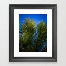 Reach for the Blue Framed Art Print