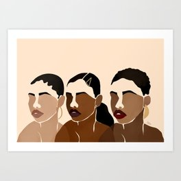 Sisters 1 Art Print