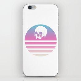 Retro Design Skull #1 iPhone Skin