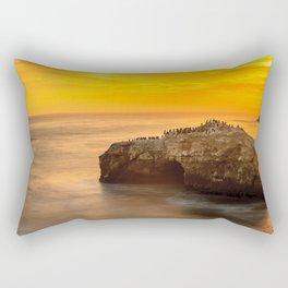 Golden Coast Rectangular Pillow