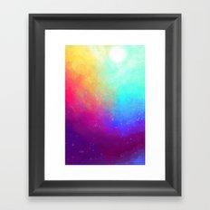 Galaxy Sky Framed Art Print