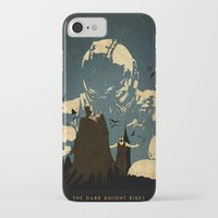 bane iPhone & iPod Cases featuring Bane  by Edmond Lim
