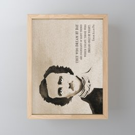 Poe Dream by Day Framed Mini Art Print