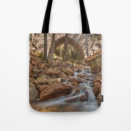 Hadlock Bridge Brook Tote Bag