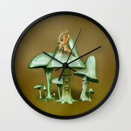 Elfenversteher Wall Clock