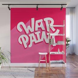 war paint Wall Mural