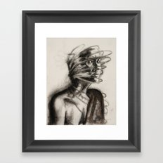 defense mechanism Framed Art Print