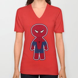 Chibi Spider-man Unisex V-Neck