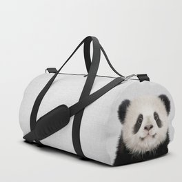 Panda Bear - Colorful Duffle Bag