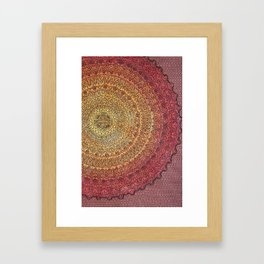 The Center of It All in Color Framed Art Print