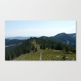Mount Thompson Canvas Print