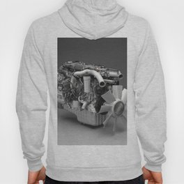 3D Engine Model Hoody