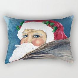 Santa's Got a Brand New Bag Rectangular Pillow
