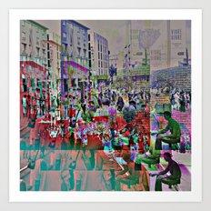 Like fish, mesh, wish/es. Art Print