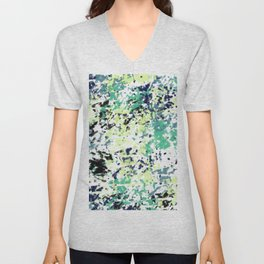 Abstract pattern 152 Unisex V-Neck
