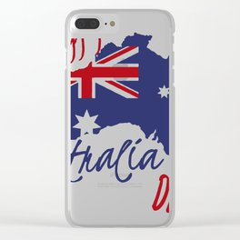 Happy Australia Day 2018 Clear iPhone Case