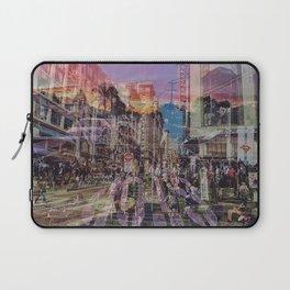 San Francisco city illusion Laptop Sleeve
