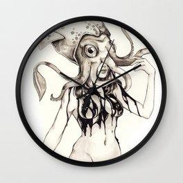 Squid Ink Wall Clock