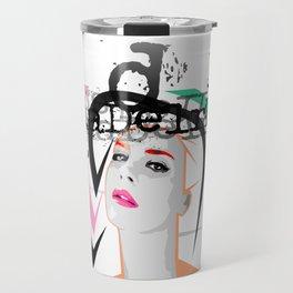 Lana Urban Street Portrait Travel Mug