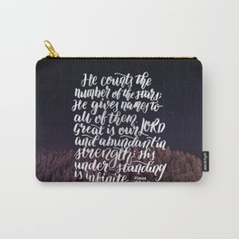 He Names the Stars Carry-All Pouch