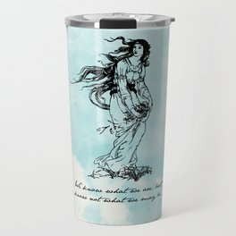 Hamlet - Ophelia - William Shakespeare Travel Mug