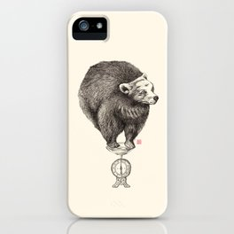 Bear your weight iPhone Case