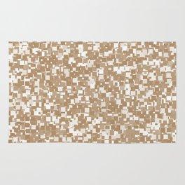 Iced Coffee Pixels Rug