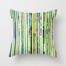 Cut Off Throw Pillow