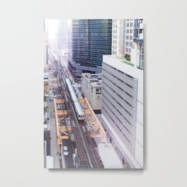 Downtown Bound Metal Print