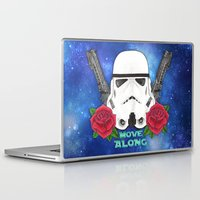 stormtrooper Laptop & iPad Skins featuring Stormtrooper by Larissa
