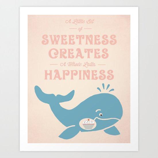 A Little Sweetness Art Print