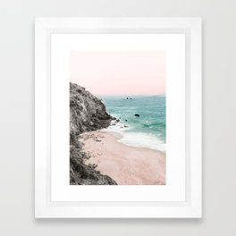 Coast 5 Framed Art Print