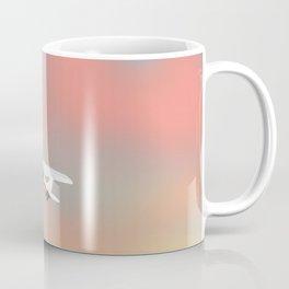 Light aircraft in the evening, Coffee Mug