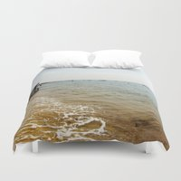 cape cod Duvet Covers featuring Cape Cod Morning by TAnhB