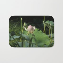 In Delicate Pinks Bath Mat