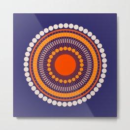 Bloom Mandala Metal Print