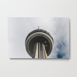 CN Tower Metal Print
